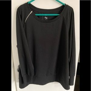 2/$30 NEW! Zip it! Nola Sweater
